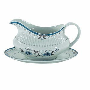 Royal Doulton Old Colony Gravy Boat and Underplate